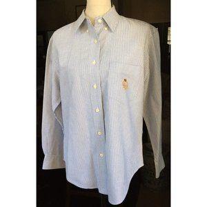 Lauren Ralph Lauren Women's Oxford Cloth Shirt 8